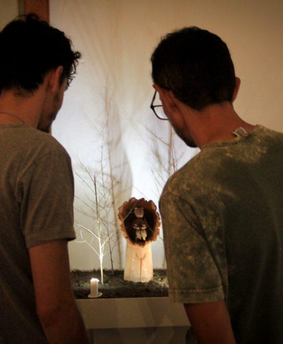 Inauguró la Exposición de Cerámica Artística Contemporánea: Limen no Limbo