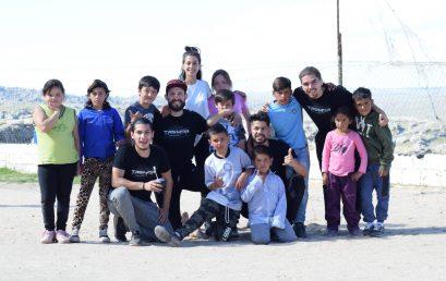 Estudiantes y docentes de la UPC visitaron la escuela Ceferino Namuncurá de la Pampa de Achala