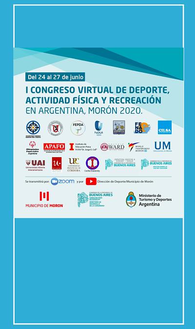 La UPC en el I Congreso Virtual de Deporte, Actividad Física y Recreación en Argentina – Morón 2020