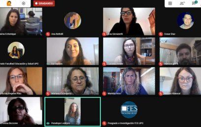 Encuentro de evaluación Becas EVC CIN en la FES