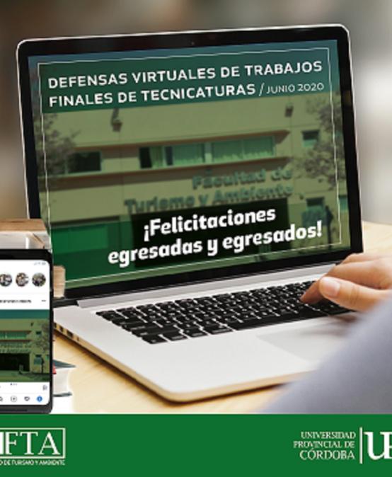 Estudiantes de la FTA defendieron sus Trabajos Finales de Tecnicatura de manera virtual