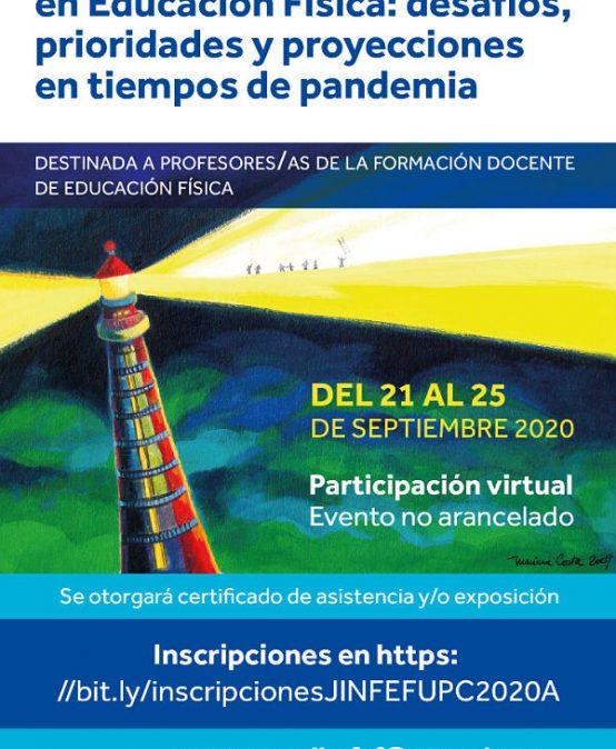 Jornada de intercambio nacional:  La formación docente en Educación Física: desafíos, prioridades y proyecciones en tiempos de pandemia