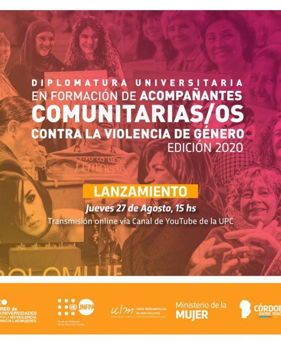 Tercera edición de la Diplomatura en Formación de Acompañantes Comunitarias/os contra la Violencia de Género