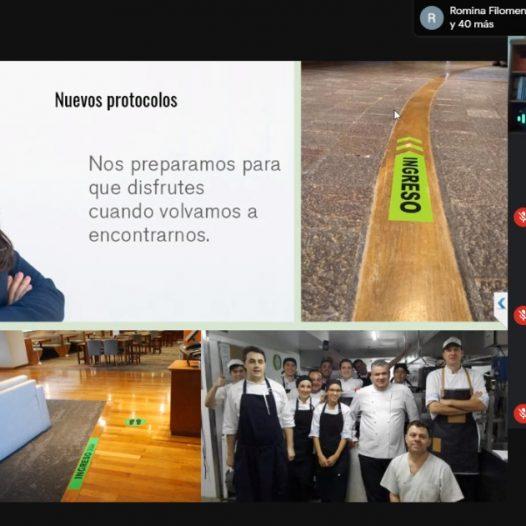 Se realizó en la FTA el II Conversatorio hospitalidad con tapabocas: Marketing hotelero pre y post pandemia
