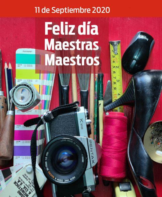 Feliz día de las Maestras/ Maestros de Arte y Diseño