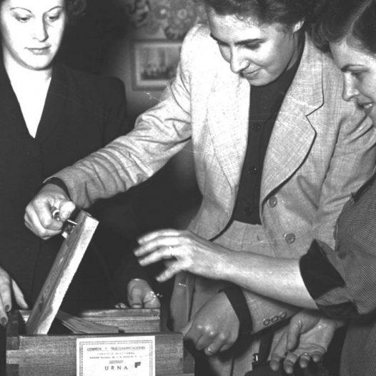 Comemoramos los 73 años de la promulgación del Voto Femenino